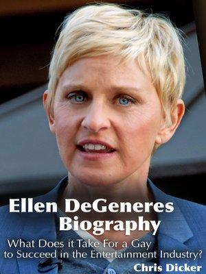 cover image of Ellen DeGeneres Biography