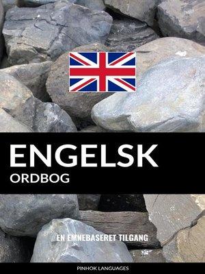 cover image of Engelsk ordbog