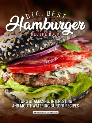cover image of Big, Best Hamburger Recipe Book