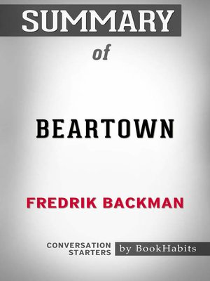 cover image of Beartown by Fredrik Backman / Conversation Starters