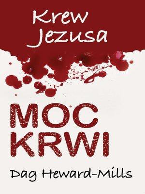 cover image of Moc Krwi Krew Jezusa