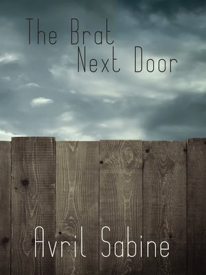 cover image of The Brat Next Door