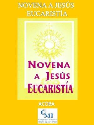 cover image of Novena a Jesús Eucaristía