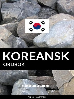 cover image of Koreansk ordbok