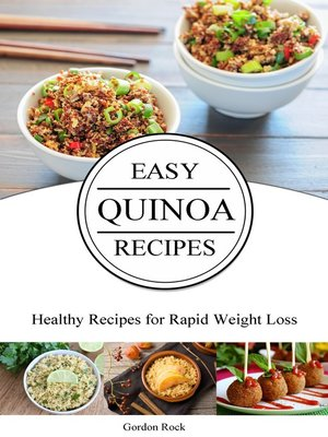 cover image of Easy Quinoa Recipes