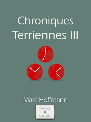 cover image of Chroniques Terriennes (Volume III)