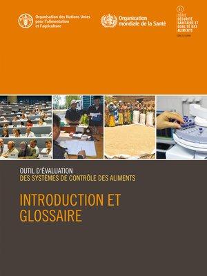 cover image of Outil d'évaluation des systèmes de contrôle des aliments