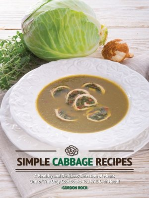 cover image of Simple Cabbage Recipes