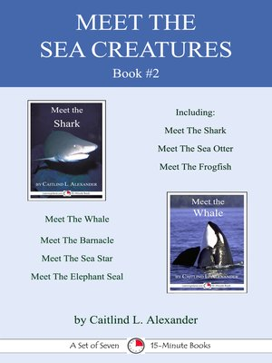 cover image of Meet the Sea Creatures Book #2