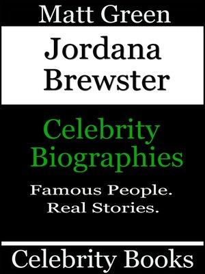 cover image of Jordana Brewster