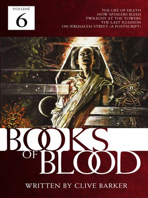 cover image of Books of Blood, Volume 6