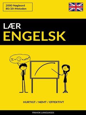 cover image of Lær Engelsk
