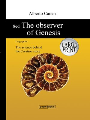 cover image of 8ed the Observer of Genesis