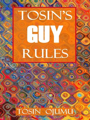 cover image of Tosin's Guy Rules
