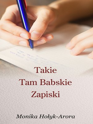 cover image of Takie Tam Babskie Zapiski