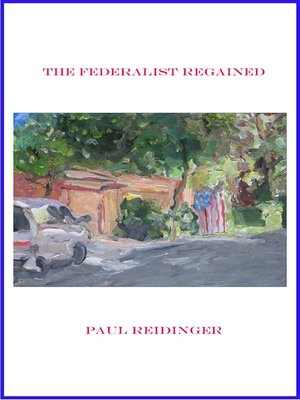cover image of The Federalist Regained