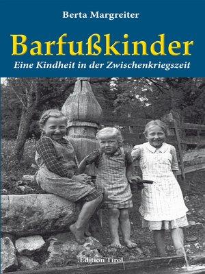 cover image of Barfußkinder