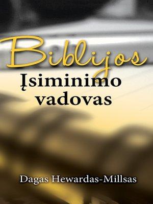 cover image of Biblijos įsiminimo vadovas