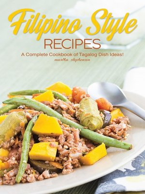 cover image of Filipino Style Recipes