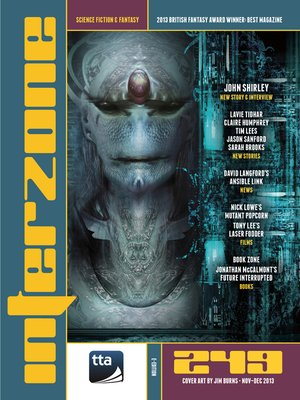 cover image of Interzone 249 Nov