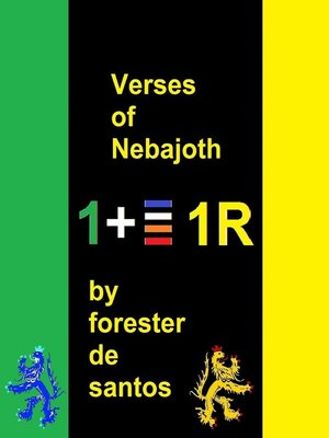 cover image of Verses of Nebajoth