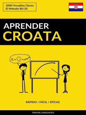 cover image of Aprender Croata