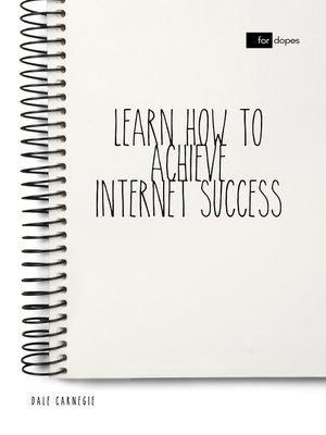 cover image of Learn How to Achieve Internet Success