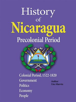 cover image of History of Nicaragua, Precolonial Period