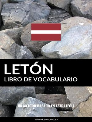 cover image of Libro de Vocabulario Letón