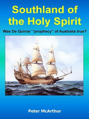 cover image of Southland of the Holy Spirit