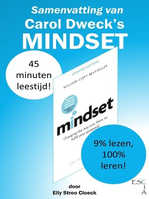 cover image of Samenvatting van Carol Dweck's Mindset
