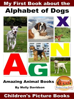 cover image of My First Book about the Alphabet of Dogs