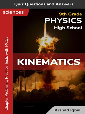 cover image of Kinematics Multiple Choice Questions and Answers (MCQs)