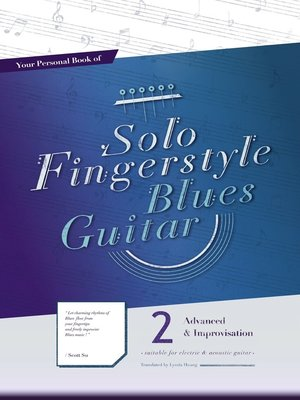 cover image of Your Personal Book of Solo Fingerstyle Blues Guitar 2