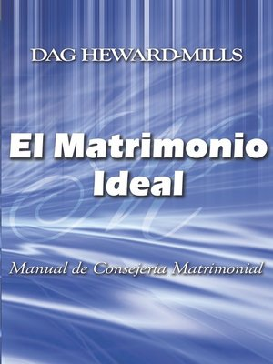 cover image of El Matrimonio Ideal