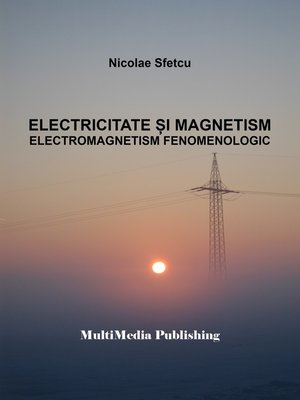 cover image of Electricitate și magnetism