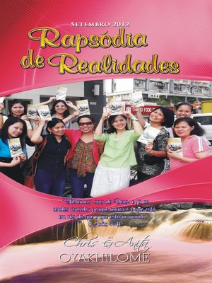 cover image of Rhapsody of Realities September 2012 Portuguese Edition