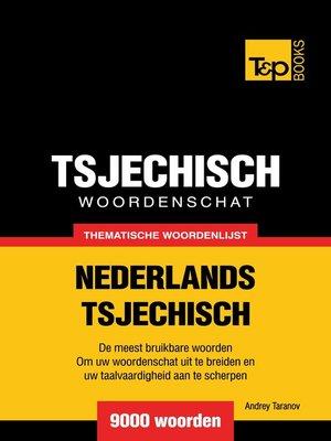 cover image of Thematische woordenschat Nederlands-Tsjechisch