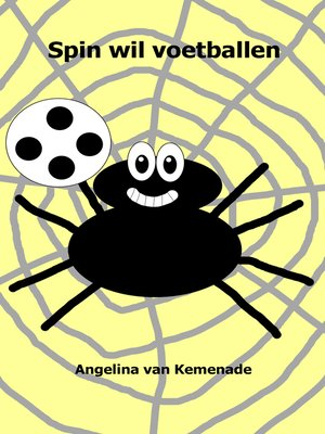 cover image of Spin wil voetballen