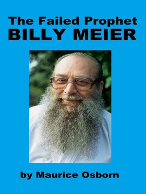 cover image of The Failed Prophet Billy Meier
