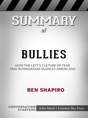 cover image of Summary of Bullies