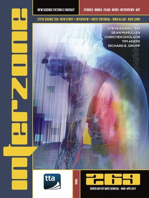 cover image of Interzone #269 (March-April 2017)