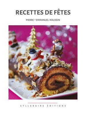 cover image of Recettes de fêtes