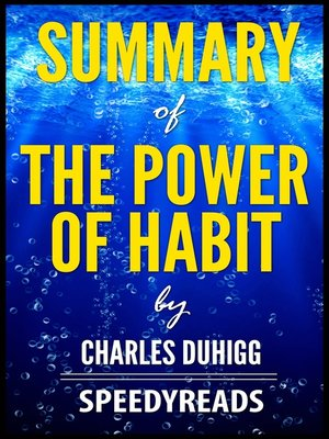 cover image of Summary of the Power of Habit by Charles Duhigg