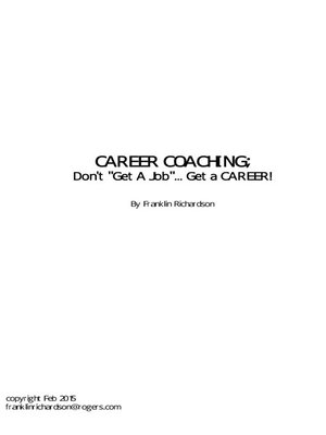 cover image of CAREER COACHING