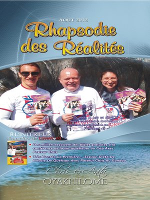 cover image of Rhapsody of Realities August 2012 French Edition