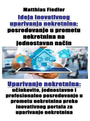 cover image of Ideja inovativnog uparivanja nekretnina