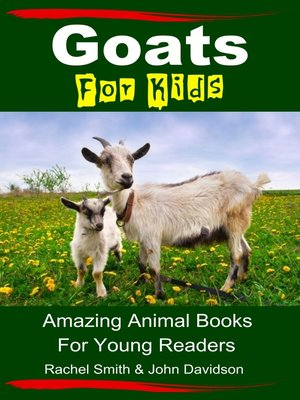 cover image of Goats For Kids