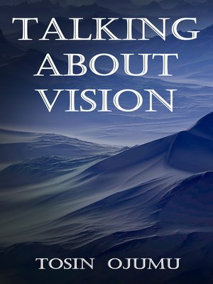 cover image of Talking About Vision