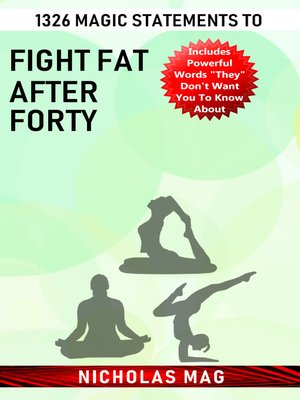 cover image of 1326 Magic Statements to Fight Fat after Forty